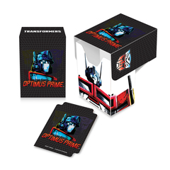 Ultra Pro Transformers Optimus Prime Full-View Deck Box