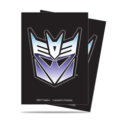 Ultra Pro Standard Size Transformers Decepticon Sleeves - 65ct