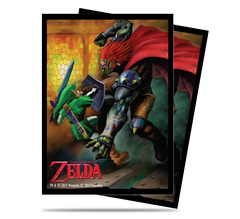 Ultra Pro Standard Size Legend of Zelda Link Gannon Battle Sleeves - 65ct