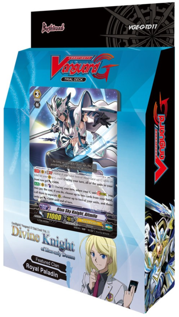 Cardfight!! Vanguard VGE-G-TD11 Divine Knight of Heavenly Decree