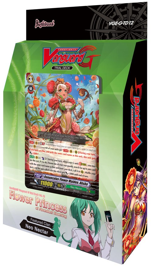 Cardfight!! Vanguard VGE-G-TD12 Flower Princess of Abundant Blooming