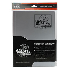 Monster Protectors 9-Pocket Binder - Silver