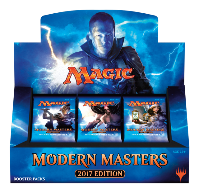 MTG 2017 Modern Masters Booster Box