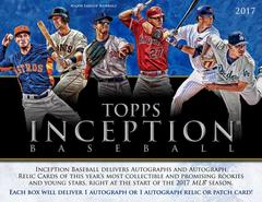 2017 Topps Inception Baseball Hobby Box