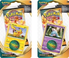 Pokemon SWSH3 Darkness Ablaze Checklane Blister Packs - Set of 2