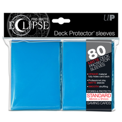 Ultra Pro Standard Size PRO-Matte Eclipse Sleeves - Light Blue - 80ct
