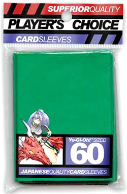 Players Choice Yu-Gi-Oh Sleeves Pack of 60 in Green
