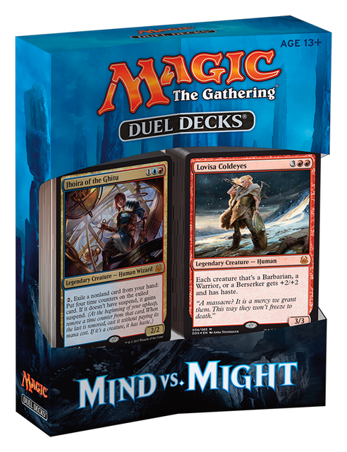 MTG Duel Decks: Mind vs Might