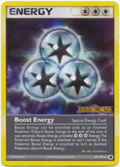 Boost Energy - 87/101 - Uncommon - Reverse Holo