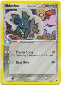 Pokemon RALTS 61//101 DELTA SPECIES UNCOMMON NM CARD   DRAGON FRONTIERS