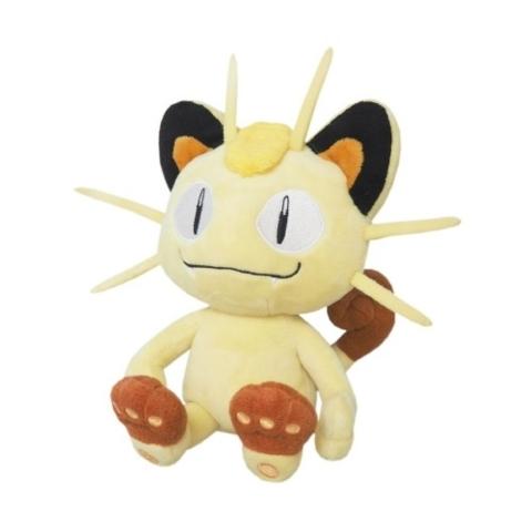 Japanese Pokemon Meowth 8 Plush PP37