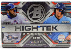 2018 Bowman High TEK Baseball HOBBY Box