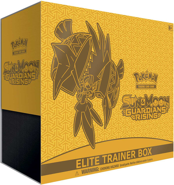 Pokemon Sun & Moon SM2 Guardians Rising Elite Trainer Box