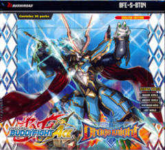 Buddyfight Ace BFE-S-BT04 Drago Knight Booster Box