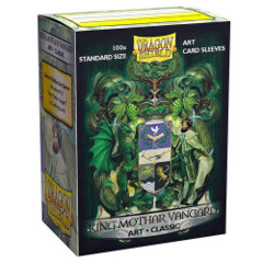 Dragon Shield Classic Art Standard-Size Sleeves - King Mothar Vangard: Coat-of-Arms - 100ct