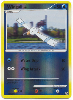 Wingull - 95/106 - Common - Reverse Holo