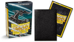Dragon Shield Matte Japanese Mini-Size Sleeves - Jet - 60ct