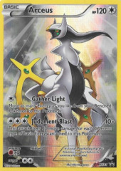 Arceus XY83 Full-Art Holo Promo - Hoopa Legendary Collection Exclusive