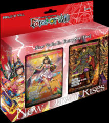 Force of Will Valhalla Cluster Fire Starter Deck