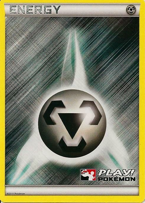Metal Energy Unnumbered Crosshatch Holo Promo - 2011 Play! Pokemon