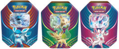 Pokemon Evolution Celebration Tins: Set of 3