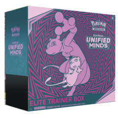 Pokemon Sun & Moon SM11 Unified Minds Elite Trainer Box