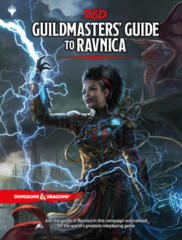 Dungeons & Dragons 5th Edition Guildmasters' Guide to Ravnica