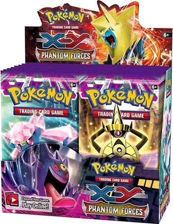 Pokemon XY4 Phantom Forces Booster Box