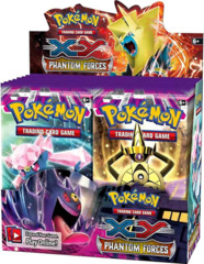 Pokemon XY4 Phantom Forces Booster Box