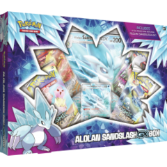 Pokemon Alolan Sandslash-GX Box