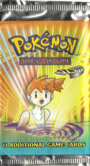 Pokemon Gym Heroes Unlimited Edition Booster Pack - Misty Artwork