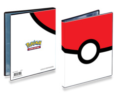 Ultra Pro Pokemon Pokeball 4-Pocket Portfolio