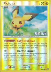 Pichu 45/100 Reverse Holo Promo - 2009 Burger King Campaign Exclusive