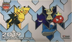 Pokemon 2019 North America International Championships Playmat