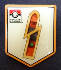 TCG Unova League Quake Badge Pin - Driftveil City