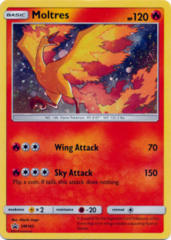 Moltres SM143 Cosmos Holo Promo - Fall 2018 Collector Chest