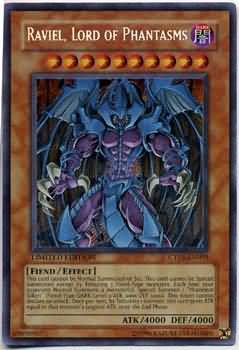 Raviel Lord of Phantasms Secret Rare Holo CT03-EN003