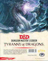 Dungeons & Dragons Dungeon Master's Screen: Tyrrany of Dragons