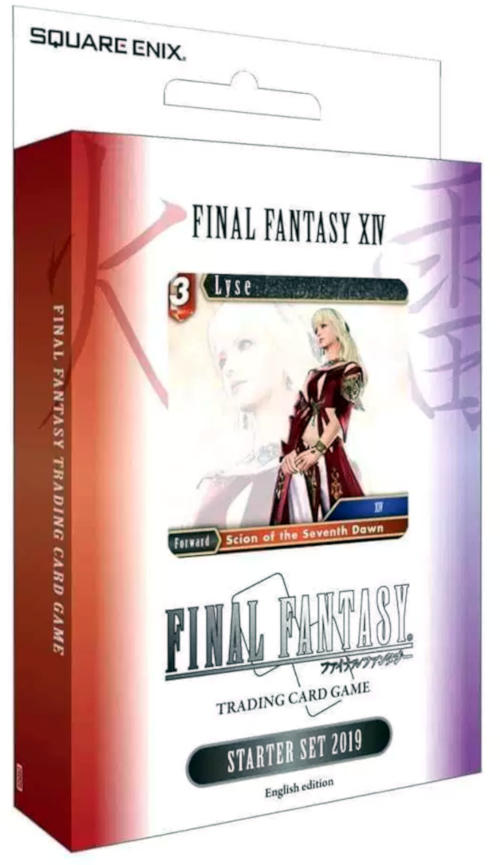 FF TCG Starter Set-Brand New /& Sealed Final Fantasy 13-XIII 2018