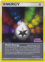 Multi Energy - 96/110 Reverse Holo