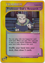 Professor Oak's Research - 149/165 - Uncommon - Reverse Holo