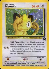 Meowth #10 Cosmo Holo Promo - Game Boy Exclusive