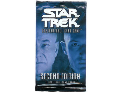Star Trek CCG 2nd Edition Booster Pack