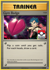 Gym Badge (Koga) Sheen Holo Promo XY207 - 2017 Pokemon League Exclusive