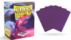 Dragon Shield Matte Standard-Size Sleeves - Purple - 100ct