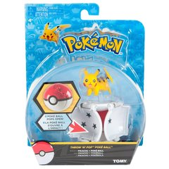 Pokemon Pikachu Throw N Pop Action Figure Set