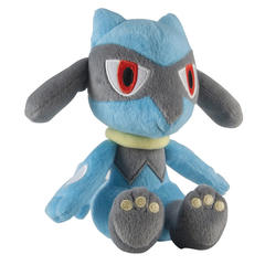 Pokemon Tomy Riolu Plush 6