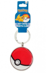 Pokemon Pokeball Enamel Keychain