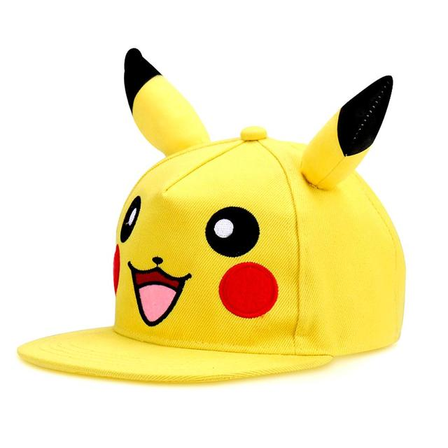 Pokemon Pikachu Youth-Size Snapback Hat