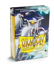 Dragon Shield Matte Japanese Mini-Size Sleeves - White - 60ct